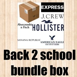 Back to school mystery box BRAND NAME
